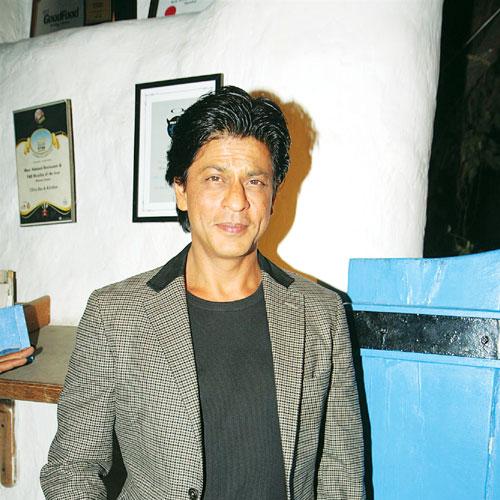 Getting Shah Rukh's goat