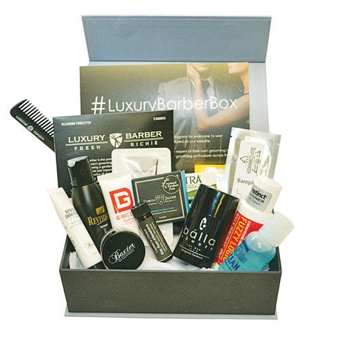 Barber's box