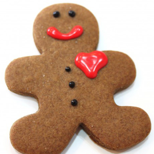 Gingerbread cookies by Shalini Padmanabhan