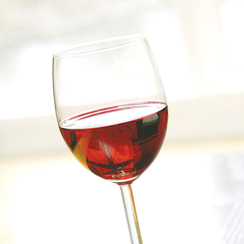 Sweet red wine by Punitha Coilpillai