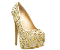 Dipsiee Gold by Steve Madden