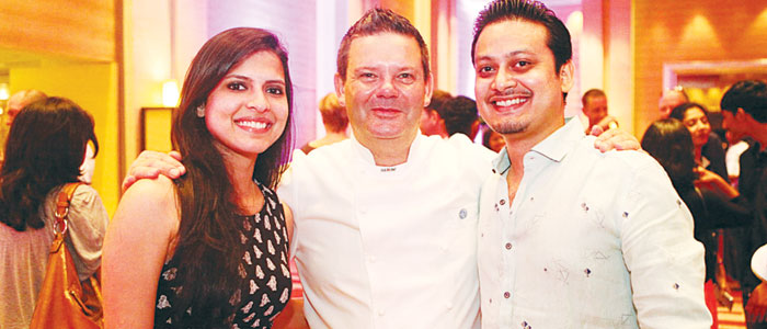 Paloma Rao, Gary Mehigan and Paul Raymond