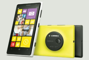 Lumia 1020 Nokia's 1020 comes with a 41MP Pureview camera which takes super clear images with no loss of detail even when you zoom. With Windows Phone 8, 2Gb of RAM, 32GB of internal storage and colour options of yellow, white and black, this may be the best smartphone to carry if you need to take plenty of quality photos everyday. Available from October 11. Nokia.com