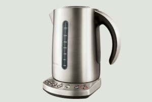 "Breville Varitemp kettle The ""IQ"" kettle from Breville has multiple settings to brew at the exact temperatures for green, white, black and Oolong teas. There's a hold temperature button to maintain the same temperature for 20 minutes. USD 130*. brevilleusa.com"