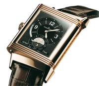 Jaeger LeCoultre Grand Reverso 986Duo Date in pink gold at Ethos