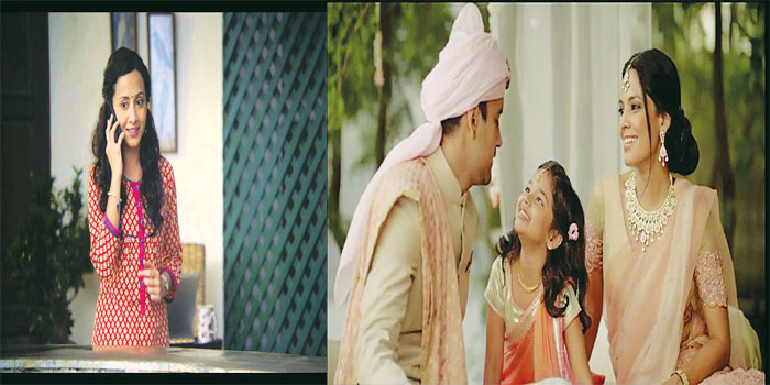 (Left) A still from the 'Google Reunion commercial' and the Tanishq commercial on re-marriage.
