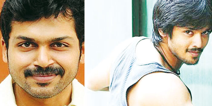 Karthi and Nakul