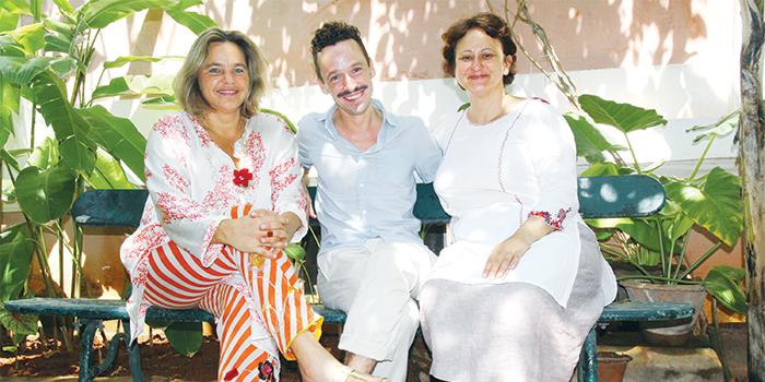 Caroline Bogelsang, Benjamin Passicos and Jeraldine Humeau