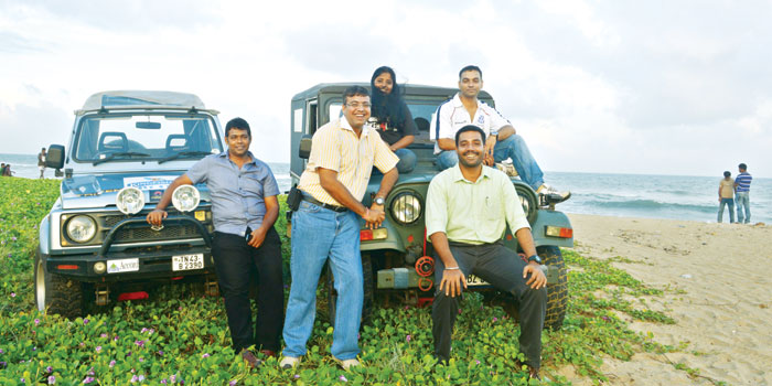 (From left to right) Sundar Ganesh, Manoj Sharma, Assu Choudhary, Raghav Rangarajam and Arkaprava Datta