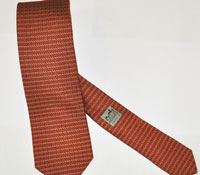 Hermes' new 'H' design for holiday ties