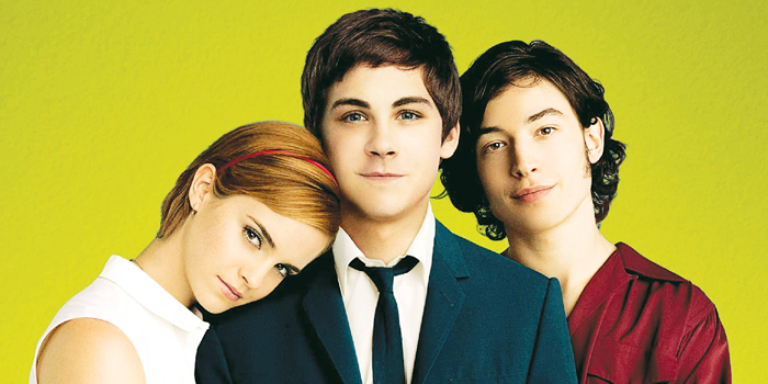 A still from the movie, 'The Perks of being a Wallflower'.
