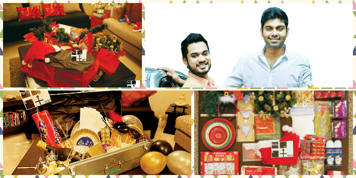 Krishna Chaitanya and Ransdale Mathew, whose week-old Party In A Box is out to change the way we entertain at home.