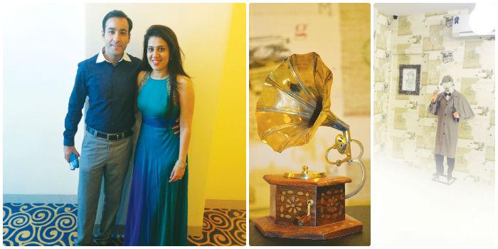 Ketan Vinod Chhatpar and wife Tina Chhatpar