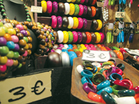 Jewellery at the Xmas fair