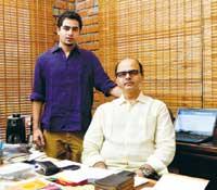 Abhyuday Purkayastha with Arijeet Purkayastha
