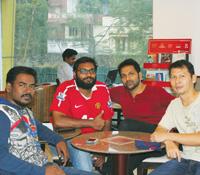 Isidore Arun Kumar,  Ehjas M, Sultan  Sickenthar and Pom