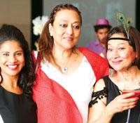 Athena Salim, Naheed Vazirally and Devyani Hinshaw