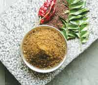 Sesame-curry-leaf-podi