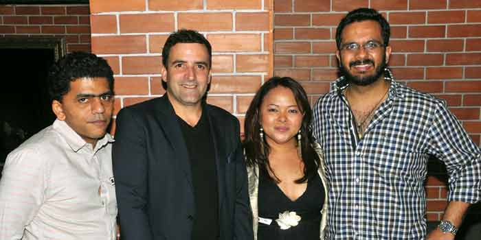 Swagath Gowda, TrevorMac Enzie, Ema Trinidad, Harish Lakhiani