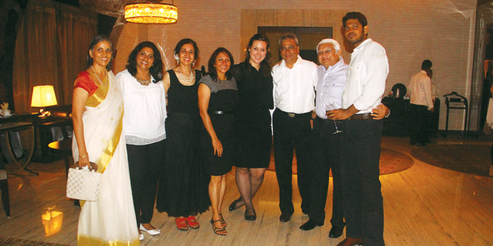 Guests at ITC Grand Chola