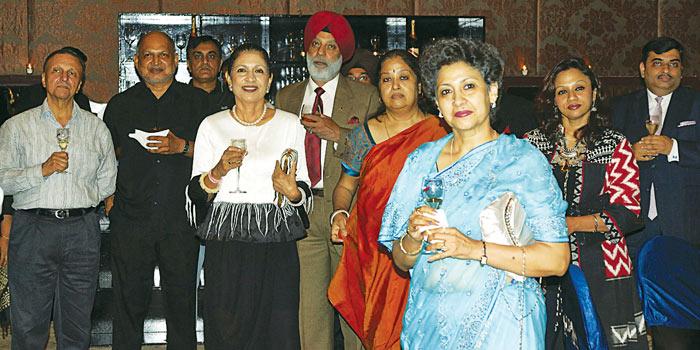Jayraj Rau, Vidya Singh, Chitra Mahesh and guests at ITC Grand Chola