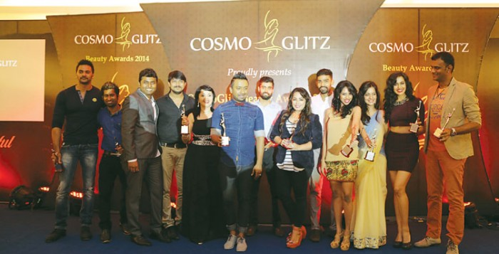 At the Cosmoglitz Beauty Awards