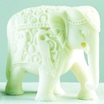 Aapno Rajasthan Royal Elephant Sculpture In White Marble, Rs 977