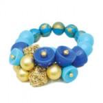 Bead-&-Mesh-Bracelet