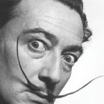 Portrait-of-Salvador-Dali,-