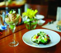 Prawn Cocktail and Currimbhoy Salad