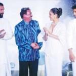 Wendell Rodricks with models