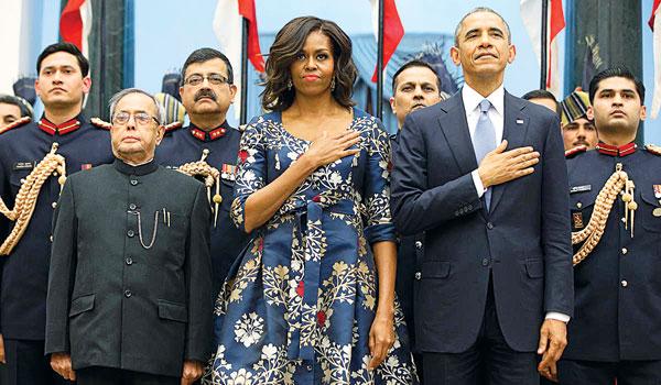 Obama, Pranab and Mishal