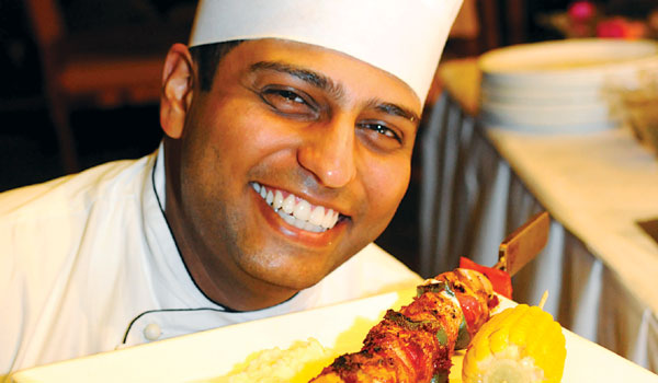Polo Club Chef Gautam Uchil