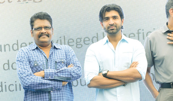 Arun Vijay and KS Ravikumar