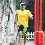 Manivannan marathon runner