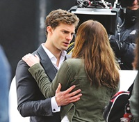 fifty shades of grey photo stills gallery