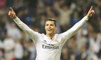 Real Madrid v Elche, La Liga football match at Santiago Bernabeu Stadium, Spain - 23 Sep 2014