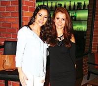 Nancy Sabillon and Mariana Estevez