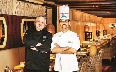 Chef Vittori Greco & Chef Zubin Writer