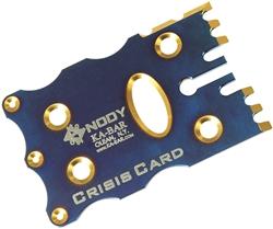 Crisis card