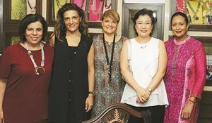 Paloma column pic 1 - Minnie Menon, Didem Fabig, Samar Raad, Eun Young Min, Uma Muthuswami