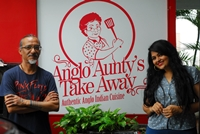 "PICTURES OF ""ANGLO AUNTY TAKE AWAY"" FOR INDULGE. EXPRESS / R.SATISH BABU"