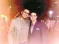Sameer and Inder at Westin.