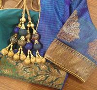 Benarasi silk blouse
