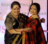 Usha Uthup and Vaijayanthimala