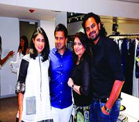 Indelust Co-Founder & Creative Director - Sana Rezwan Sait, Indelust Co-Founder - Nihar Sait, Shehnaz & Designer, Rahul Mishra copy