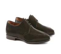 Corneliani - Derby with calfskin and stitching and leather sole