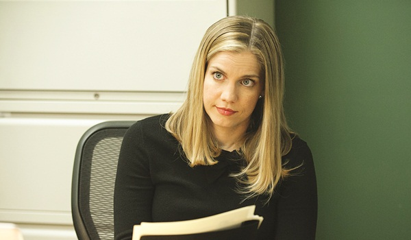 Interview with :    Actress Anna Chlumsky on why the Meyer-Brookheimer bond is unbreakable on the show, Veep