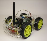 Smart-robot-car-chassis-Acrylic-finished