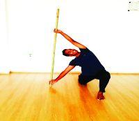 Yoga on Stick